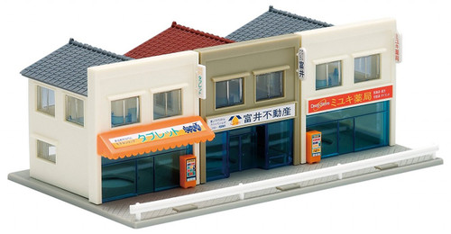 Tomix N Scale Retail Shops 4008