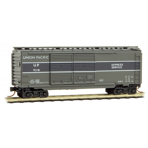 Micro Trains N Scale Union Pacific Boxcar - Rd# 9218- 02300270