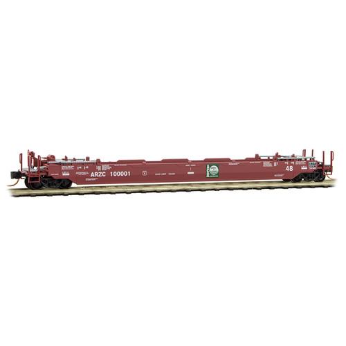 Micro Trains N Scale Arizona & California Husky Stack Rd#100008  - 13500122