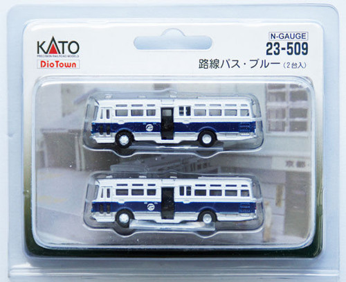 Kato N Scale Bus Two Pack -23509