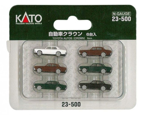 Kato N Scale Six Toyota Pack -23500