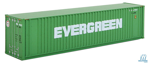 Walthers N Scale Evergreen 40' High Cube Container