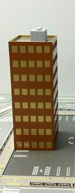Train Time Laser  N Scale Lincoln Ave High Rise Building Kit