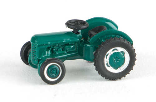 Oxford N Scale Fordson Farm Tractor - Assembled -- Green