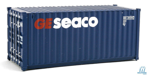 Walthers HO Scale GE Seaco 20' Corrugated Container - 9332015