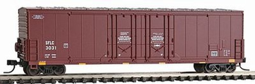 Atlas N Scale BNSF 53' DPD Box Car