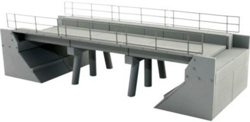 BLMA N Scale Modern Concrete Segmented Bridge Expander B
