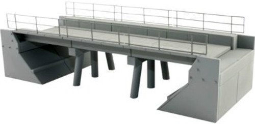 BLMA HO Scale Modern Concrete Segmented Bridge