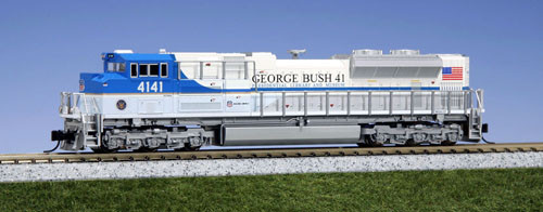 Kato N Scale  EMD SD70ACe Union Pacific #4141 George Bush - 1768411