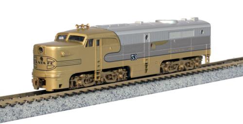 Kato N Scale  ALCO PA-1 Santa Fe Goldbonnet - 176053L