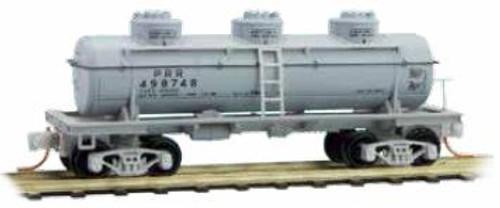Micro Trains N Three Dome Tank Car, PRR #498748 - 0660090