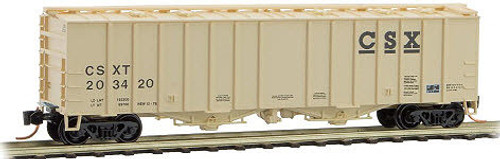 Micro Trains N 50' Airslide Hopper Car, CSX #203420 - 09800031
