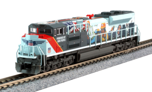Kato N Scale SD70ACE UP, #1111