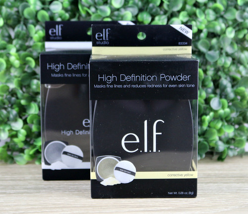 e.l.f. Studio High Definition Powder - Corrective Yellow