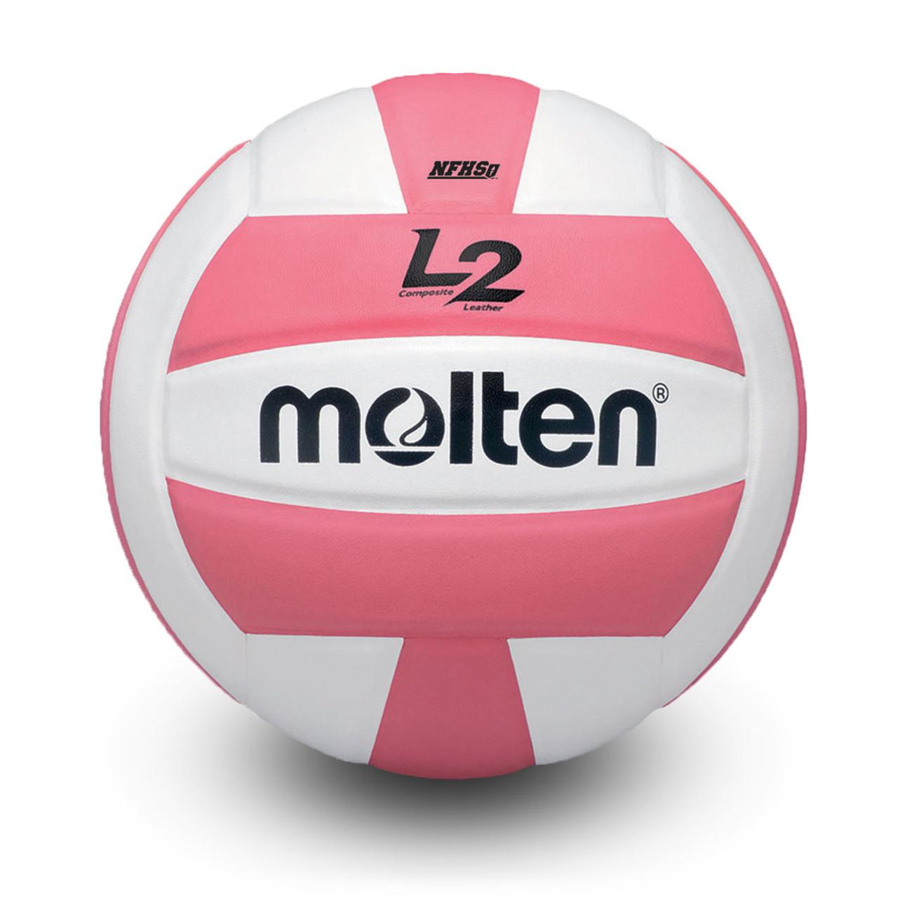 Molten SV2P intérieur//extérieur non-Sting Latex Volley Ball rose-Taille 5