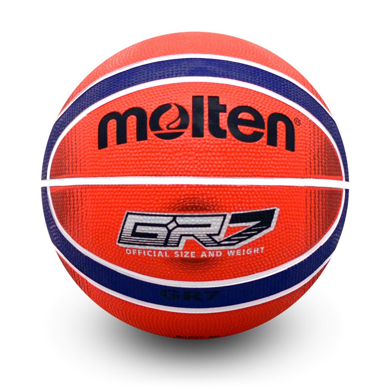 Free P/&P 2020 Molten BGRX Rubber Basketball Blue//Green