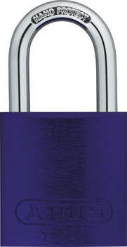 Abus 72/40 Purple Padlock, Keyed Different