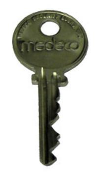 Cut Medeco Key, for Amsec K1 Sold Each