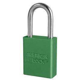 American Lock A1106 Green Padlock, Keyed Different
