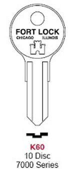 Key Blank, Fort K60