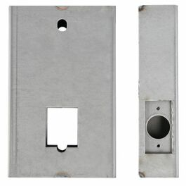 Weldable Steel Non-Handed Gate Box 12GA.