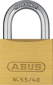 ABUS 55/40KA 5402 Brass Body Padlock, Keyed Alike 5402