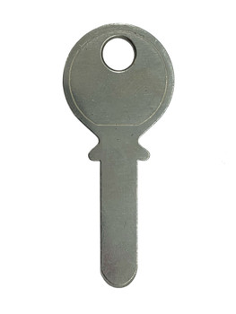 JMA KA-7 Key blank, KABA Dimple