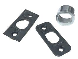 Kwikset 81845 Springlatch Faceplate Kit, Dark Bronze/US10B