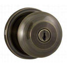 Weslock 640 Impressa Entry Lock, Antique Brass, Keyed Different