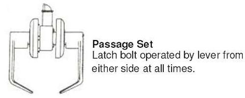 Cal-Royal SL30 10B Passage Lever