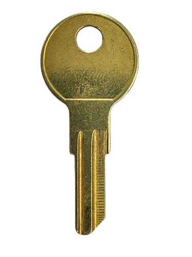 Key blank, JMA ILC7DE for Ilco/Yale IN8