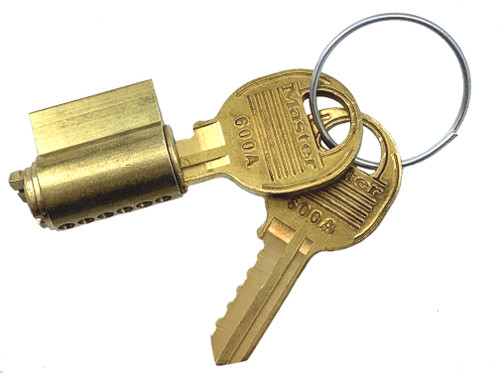 Master Lock 296W600A Cylinder, for Pro Series 600A Zero Bitted
