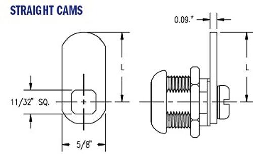 "Part, Cam 1-1/2"" FLAT"