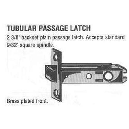 Part, Tubular Passage Latch #87