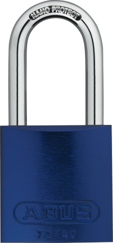 Abus 72HB/40-40 Blue Padlock, Keyed Different