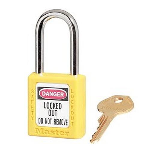 Safety Padlock, 410 Yellow