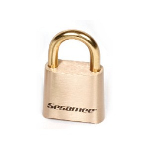CCL Sesamee K0436 Padlock, Resettable Combination Marine Brass