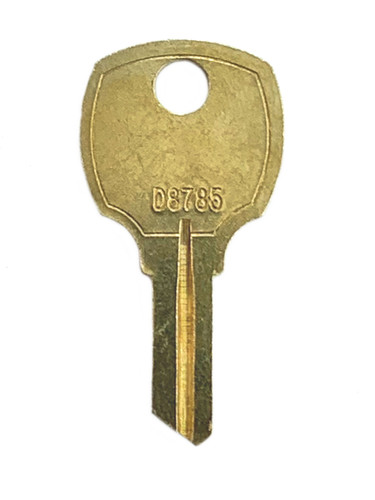 Key blank, standard National RO3,D8785