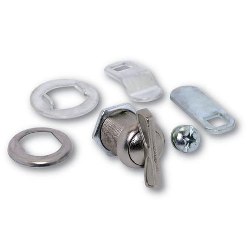"""ESP ULR-TT625STD Bright Nickel T-Turn Cam Lock, 5/8"""""""
