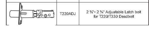 Bolt Only, Cal-Royal T220ADJ 26D Adjustable for T220/T330