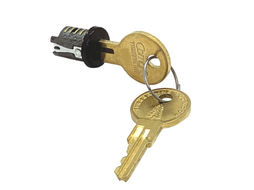Compx Timberline Key Plug, Bronze C400LP-KD-20