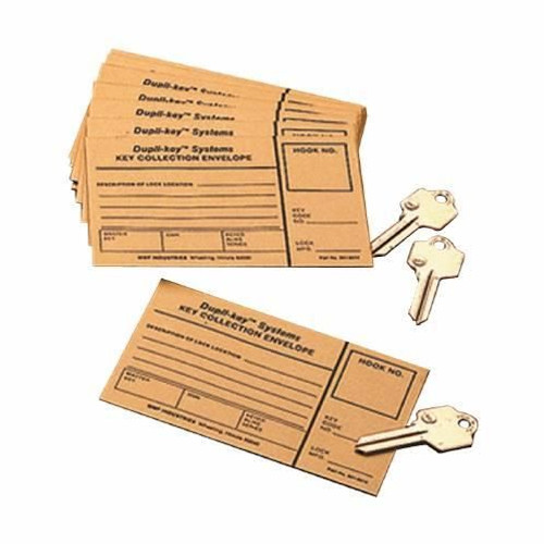 Key Collection Envelopes 100pk
