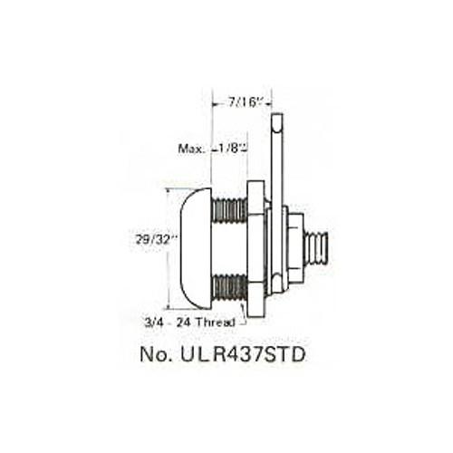 """ESP ULR-437STD 7/16"""" Cam Lock, Keyed Alike ES201"""