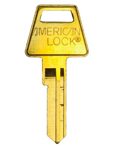 Key blank, American Padlock, APTKB2, AK6 6pin