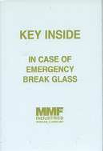 MMF 201900100 Replacement Glass for Emergency Key Box