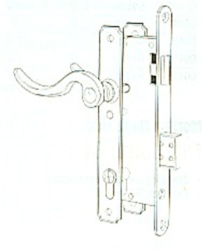 Mortise Lock Complete for Atrium US3