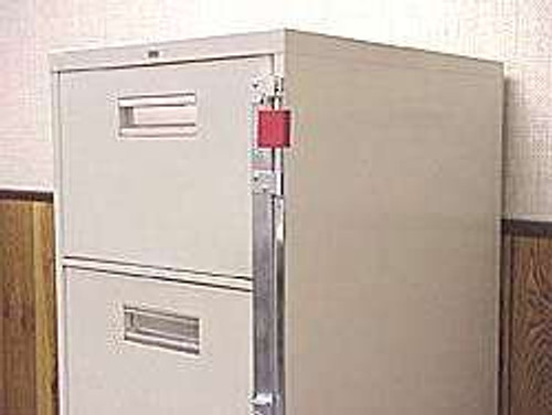 Major File Cabinet Bar, 2 Drawer RH Mount FB-2R