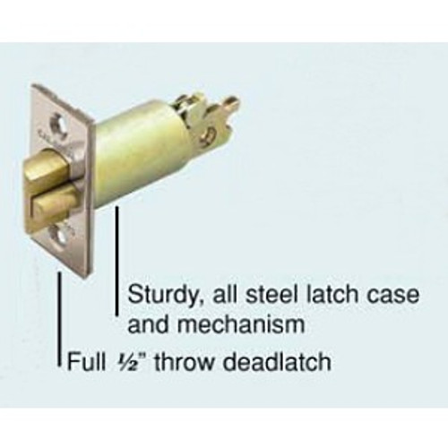Cal-Royal GL-234 26D Deadlatch, 2-3/4 Backset