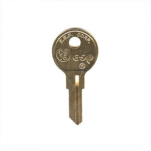 ESP CG16 Key Blank for Chicago 1041T/K5