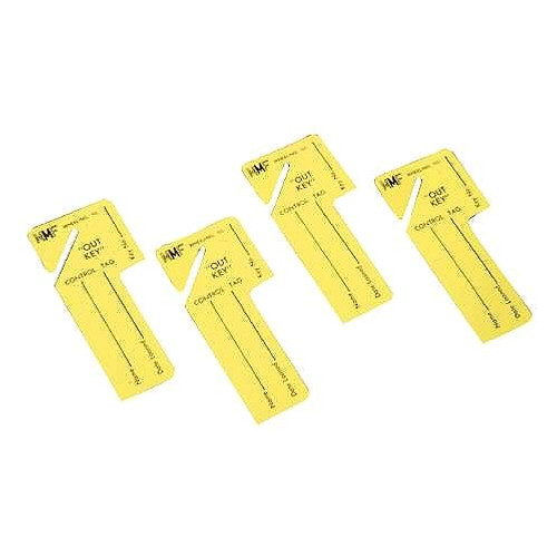 MMF 201300212 Out Key Control TAG, 24/PK